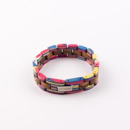 Náramok na ruku - Double Rainbow s krabičkou