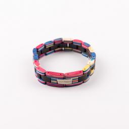 Náramok na ruku - Ebony Rainbow