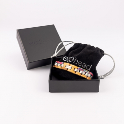 Náramok na ruku - White Rainbow s krabičkou