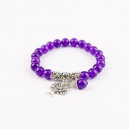 Náramok - Purple Tree